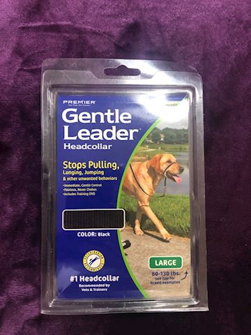 Gentle lead head collar