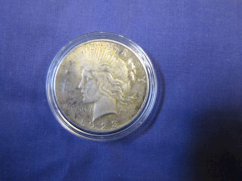 Coin - 1923 Silver Peace Dollar