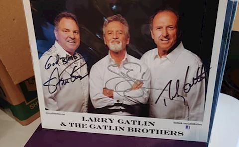 Gatlin Brothers Autographs