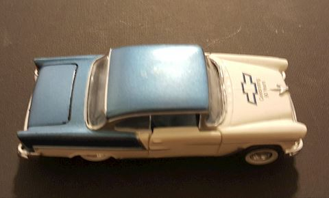 Vintage 1955 Chevy Bel Aire Model Car