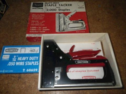 Sears Craftman Stapler