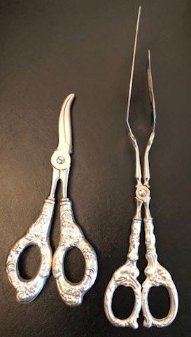 2-Piece Sterling Scissors and Spatula Set