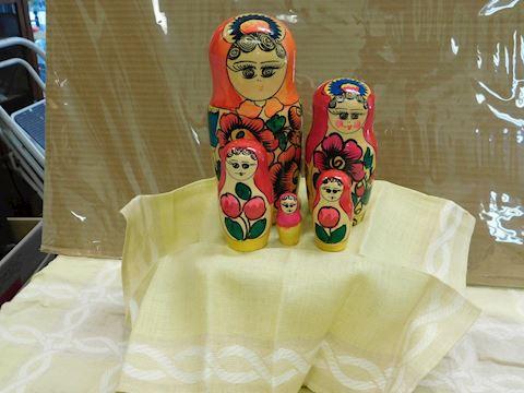 5 piece nesting dolls