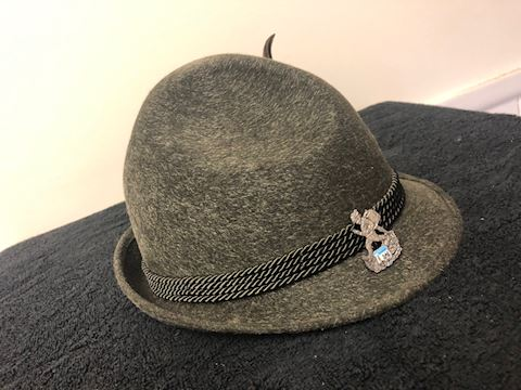 Tyrolean Wool Felt Alpine Hat