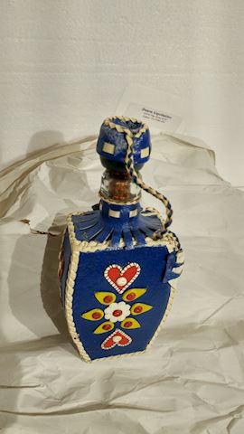 Flask 1954 Handmade Wilma Cooper, Grand Ole Opry