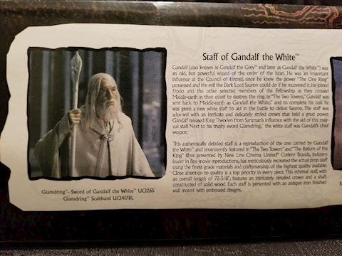 Staff of Gandalf the White