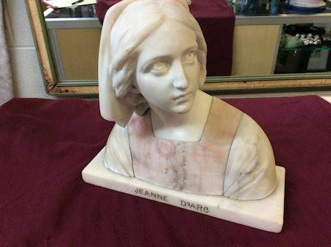 Alabaster statue