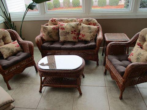 Wicker Sunroom set