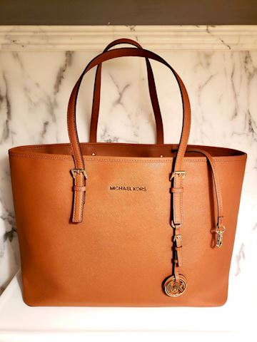 Michael Kors large Saffiano Leather Jet Set Bag