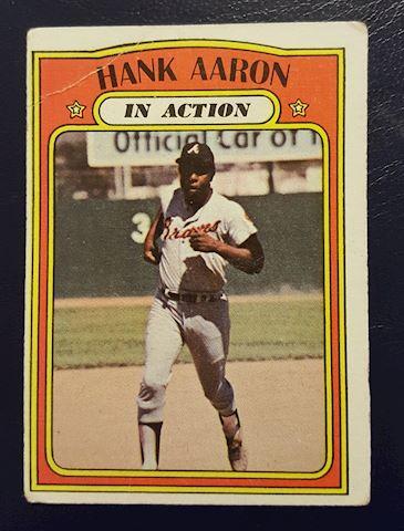 Old Hank Aaron Baseball Card #300