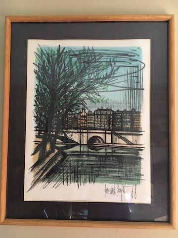 Mid Century Art Print - Bernard Buffet Lithograph