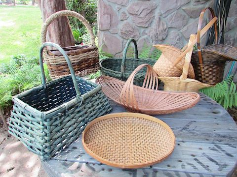 Basket Assortment, Lot of 8