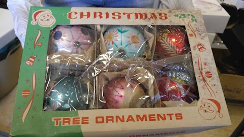 Large Fantasia Vintage Christmas Oraments Poland