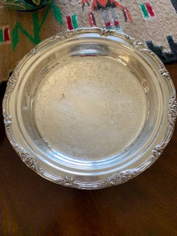 SilverPlated Pie Tray