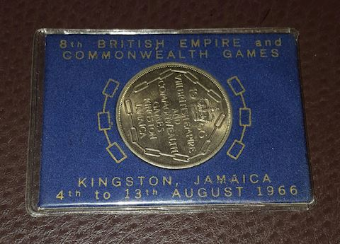 1966 Kingston Jamaica 5 Shilling Commemorativ Coin