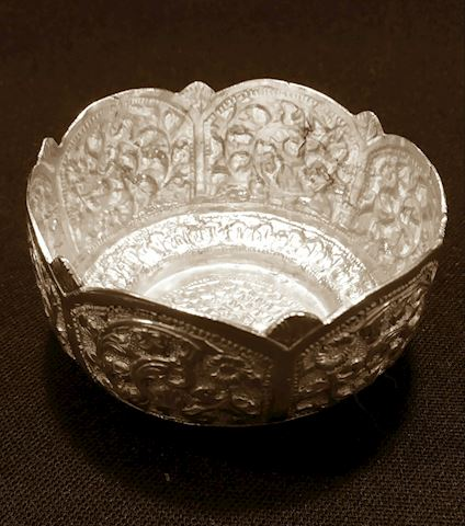 Silver Middle Eastern Bowl