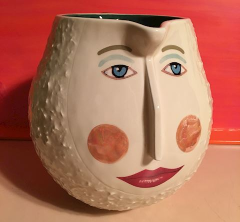 Department 56 Face Pitcher