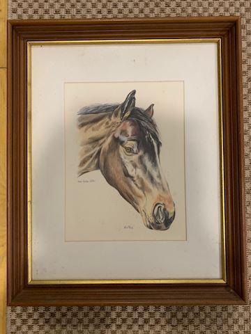 Donn Rodman Hettel  Equestrian/Horse Art Frames