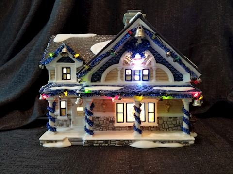 Department 56 The Jingle Bells House