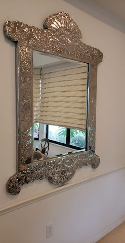 Fabulous Statement Silver Mirror