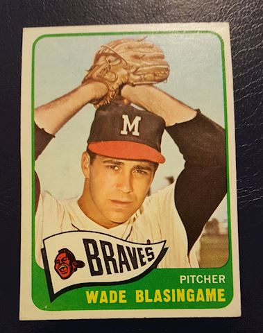 1965 Wade Blasingame Baseball Card #44