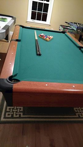 "Mizerak 8""  Carlyle Drop Pocket Pool Table"