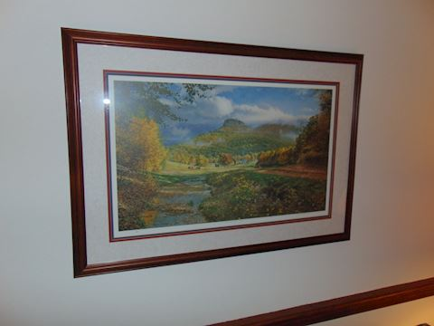 Print of Pilot Mountain