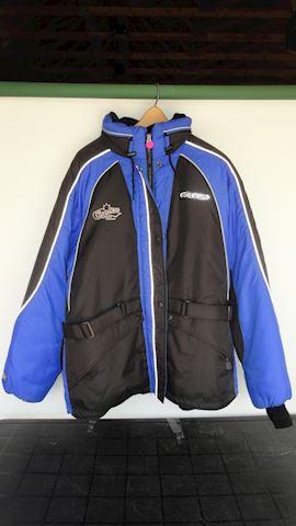 Blue Choko Adventurer Snowmobile Jacket Lot #97