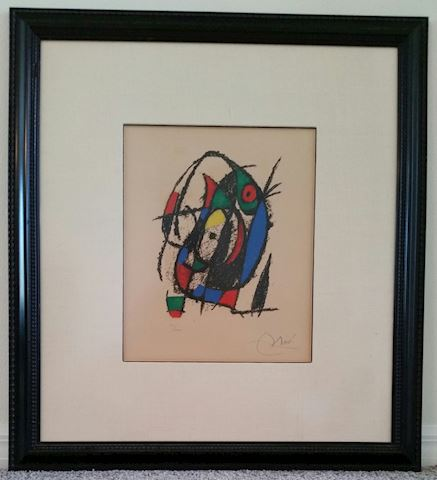 Joan Miro Lithograph II No.IV