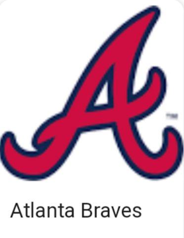 Collection of 100 Atlanta Braves Baseball Cards