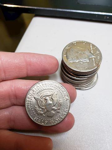 15-1971 Denver Mint, JFK Half Dollars