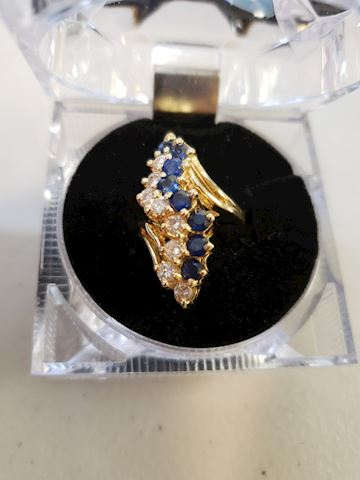 Waterfall, S-Curve, Sapphires, Diamonds,
