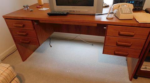 Teak Wood Office Desk