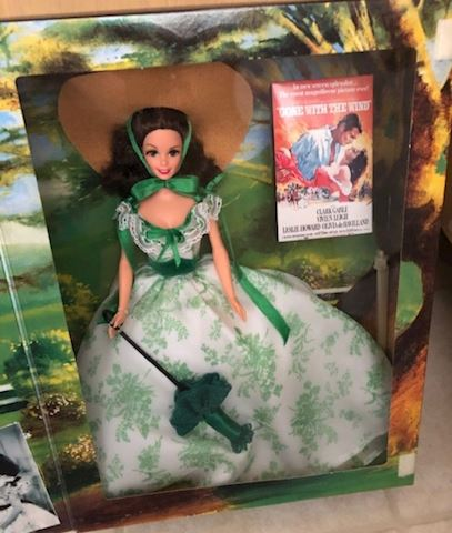 Barbie as Scarlett O'Hara - Green Dress