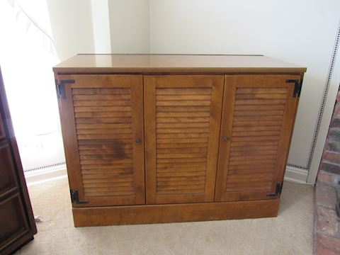 Credenza Television Stand Entertainment Center