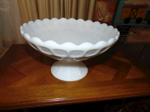 Milk White Glass Bowl