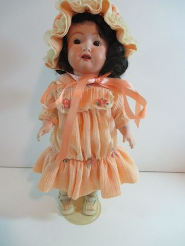 "An All Porcelain Heubach Koppelsdorf Doll 12"""