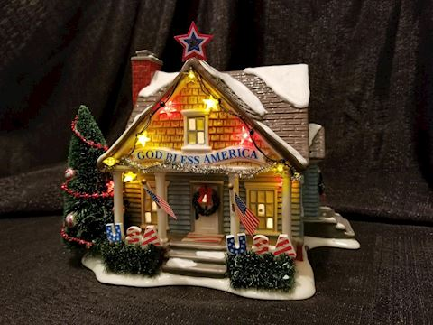 Department 56 The Patriot House