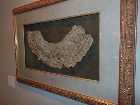 Greek bas relief.  Shipping option offered!