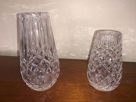2 vases Waterford