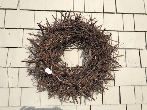 Large twig wreath