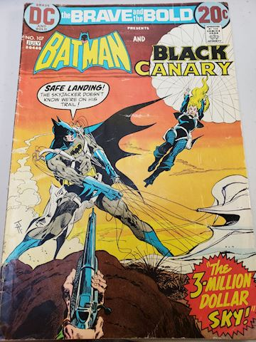 Batman and the Black Canary issue 107