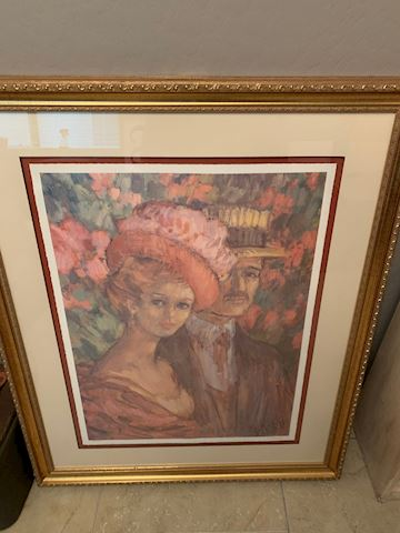 SIKORSKI SIGNED AND NUMBERED LITHOGRAPH