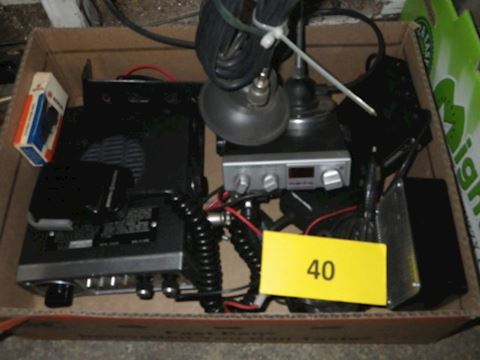 Lot #40 - CB Radios and More