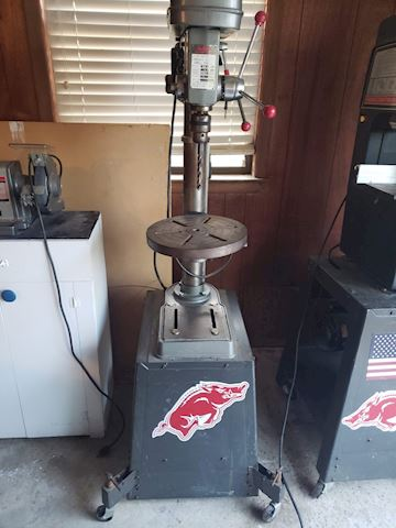 buffalo drill press and stand
