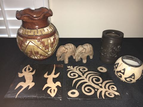 Decorative Items--Pottery