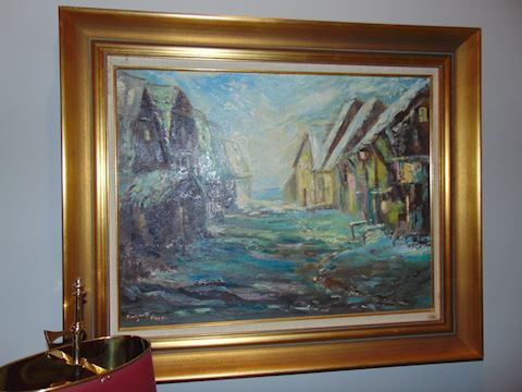 Original oil.  Shipping option offered!