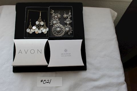 #021 Stunning Necklace and Earring Sets Fashion