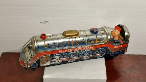 1960s Toy Metal Train Made in Japan