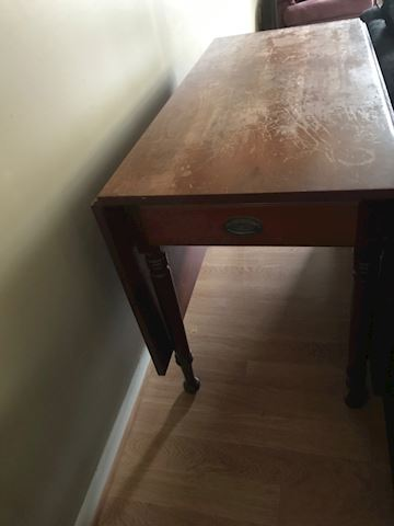 drop leaf sofa table